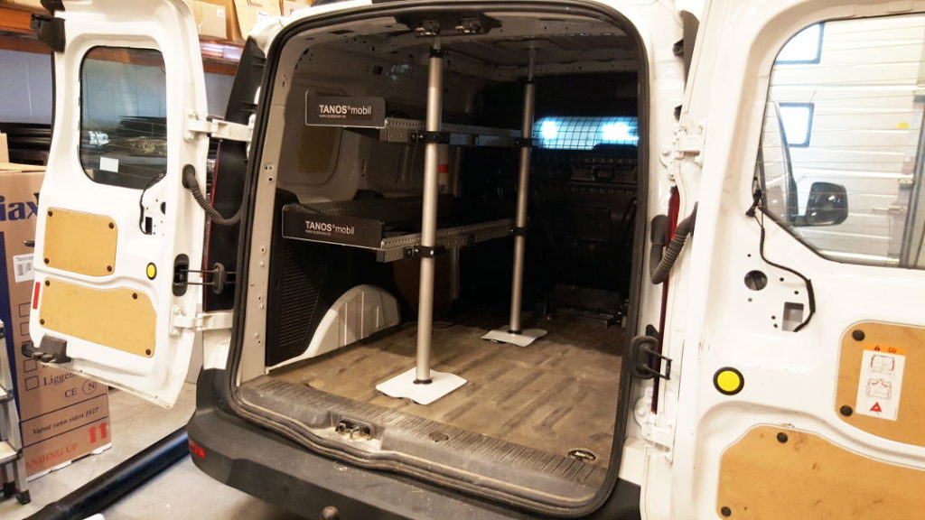 TANOS® mobil sett S-1260 i Ford Connect