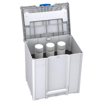 Systainer3 M437 for Spraybokser, lys-grå