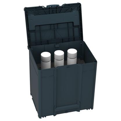 Systainer3 M437 for Spraybokser, mørk-grå